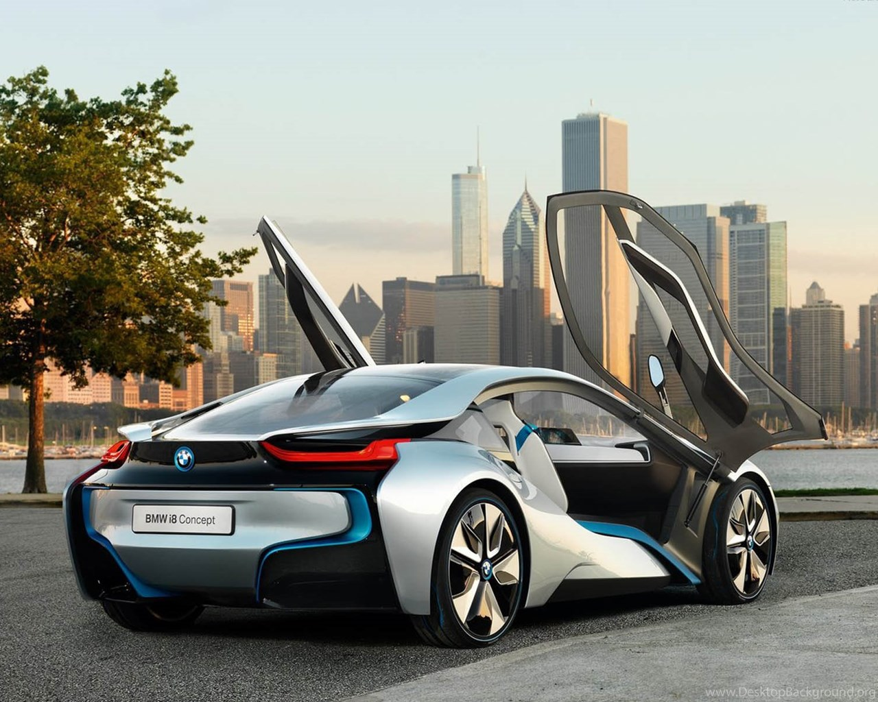 Bmw I8 Wallpapers Hd At Night Wallpaper Desktop Background