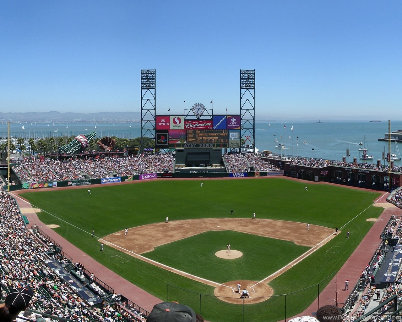 San Francisco Giants Stadium Wallpaper: SAN FRANCISCO GIANTS Mlb Baseball (7) Wallpapers Desktop