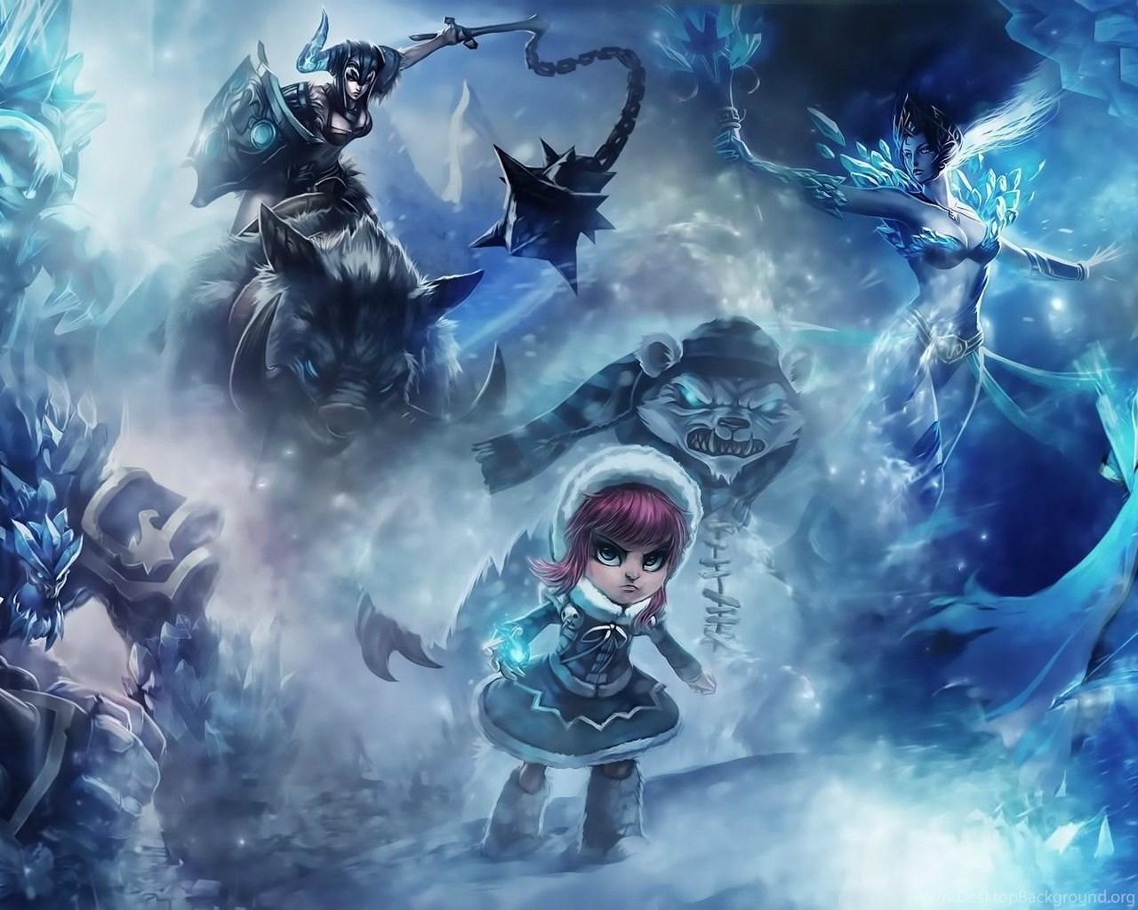 72 Ashe League Of Legends Hd Wallpapers Desktop Background