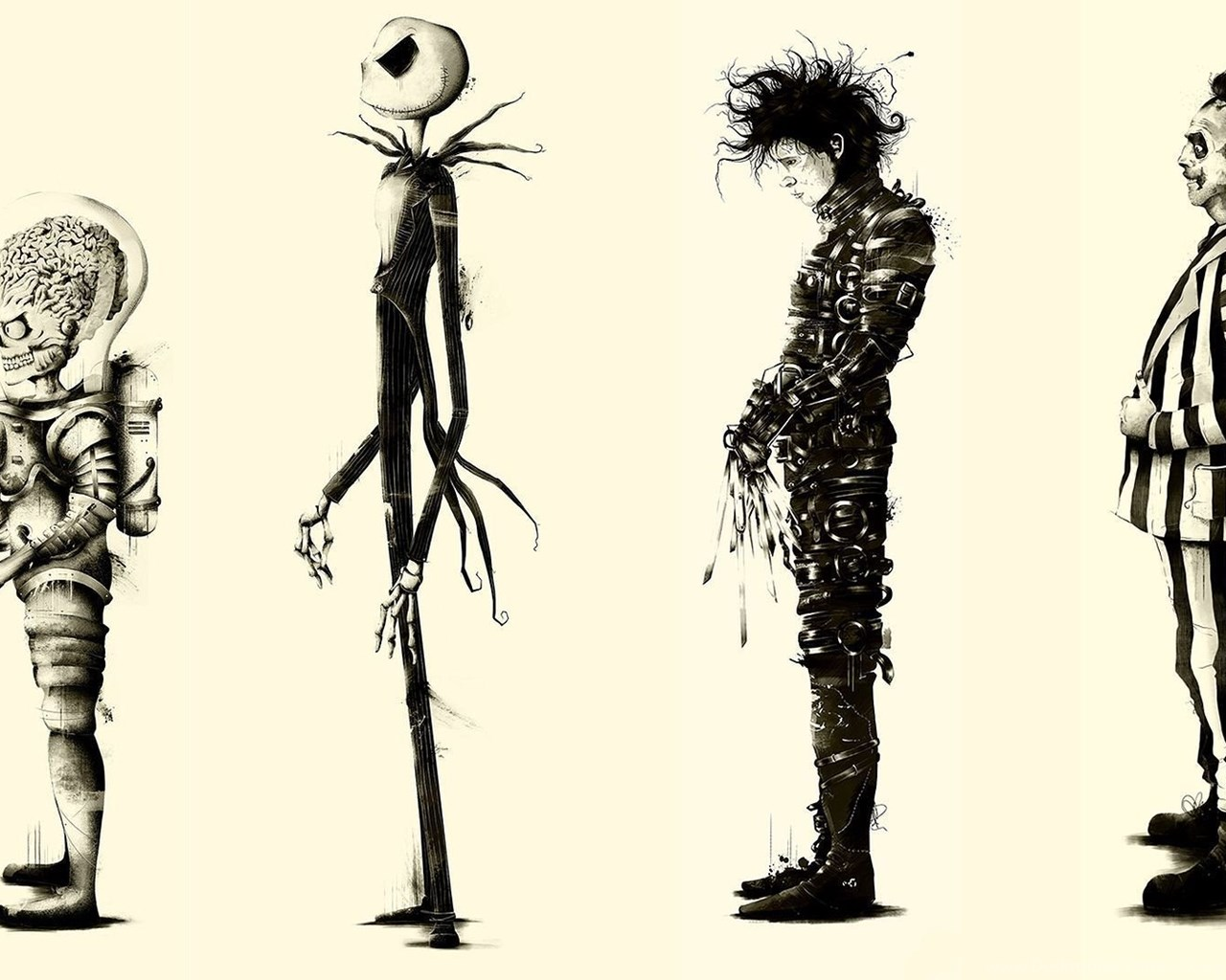 Hd Background Wallpaper 800x600: Beetlejuice Fan Art Movies Tim Burton » WallDevil Best