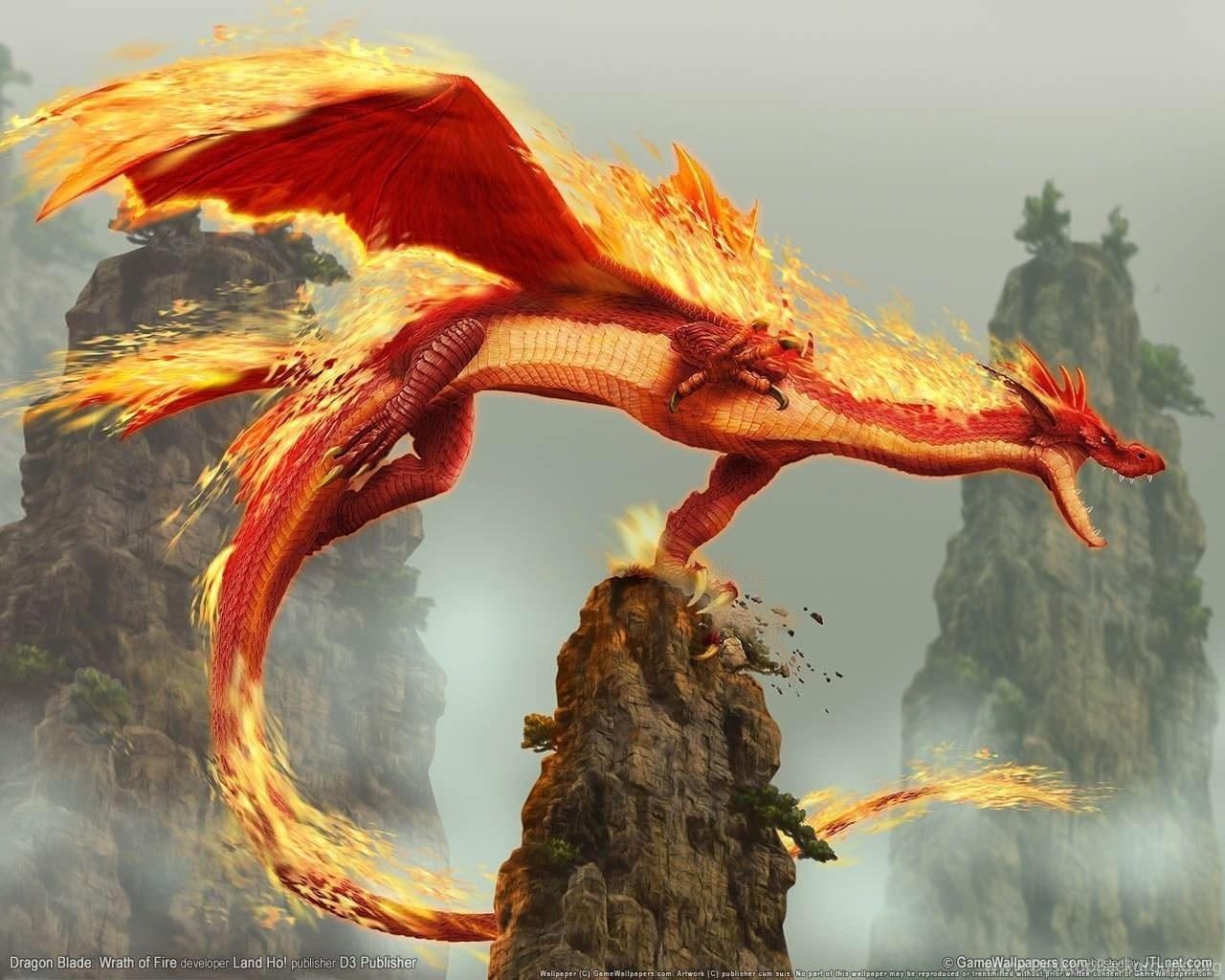 free dragon screensavers and wallpapers desktop background