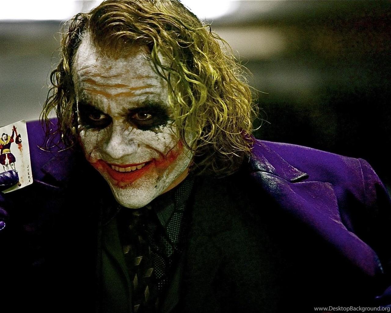 Heath Ledger Joker Hd Wallpapers Desktop Background