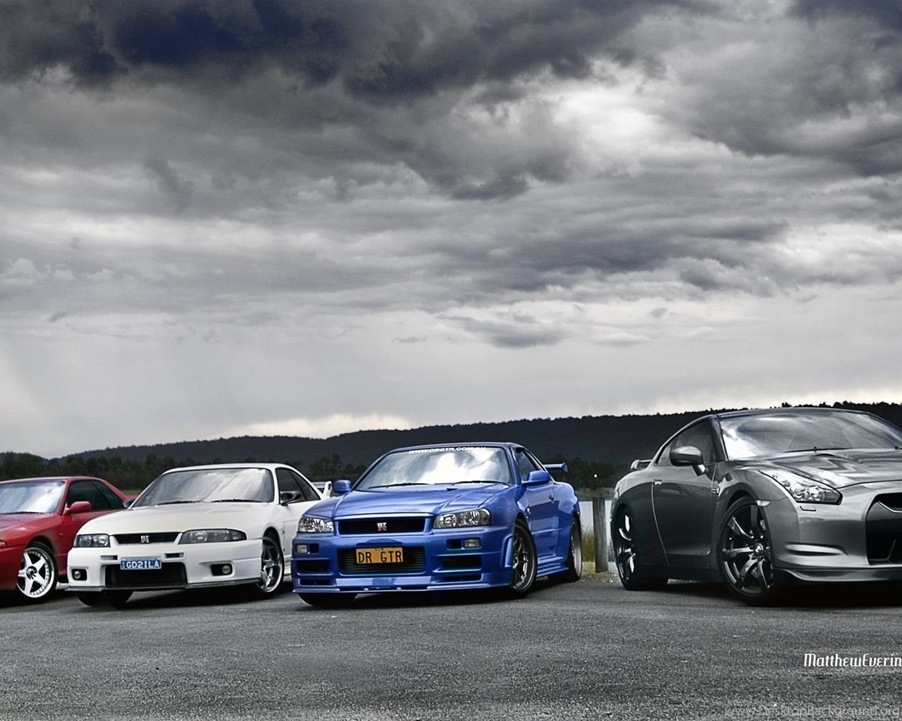 Nissan Skyline R34 2 Fast Furious Wallpaper Desktop Background
