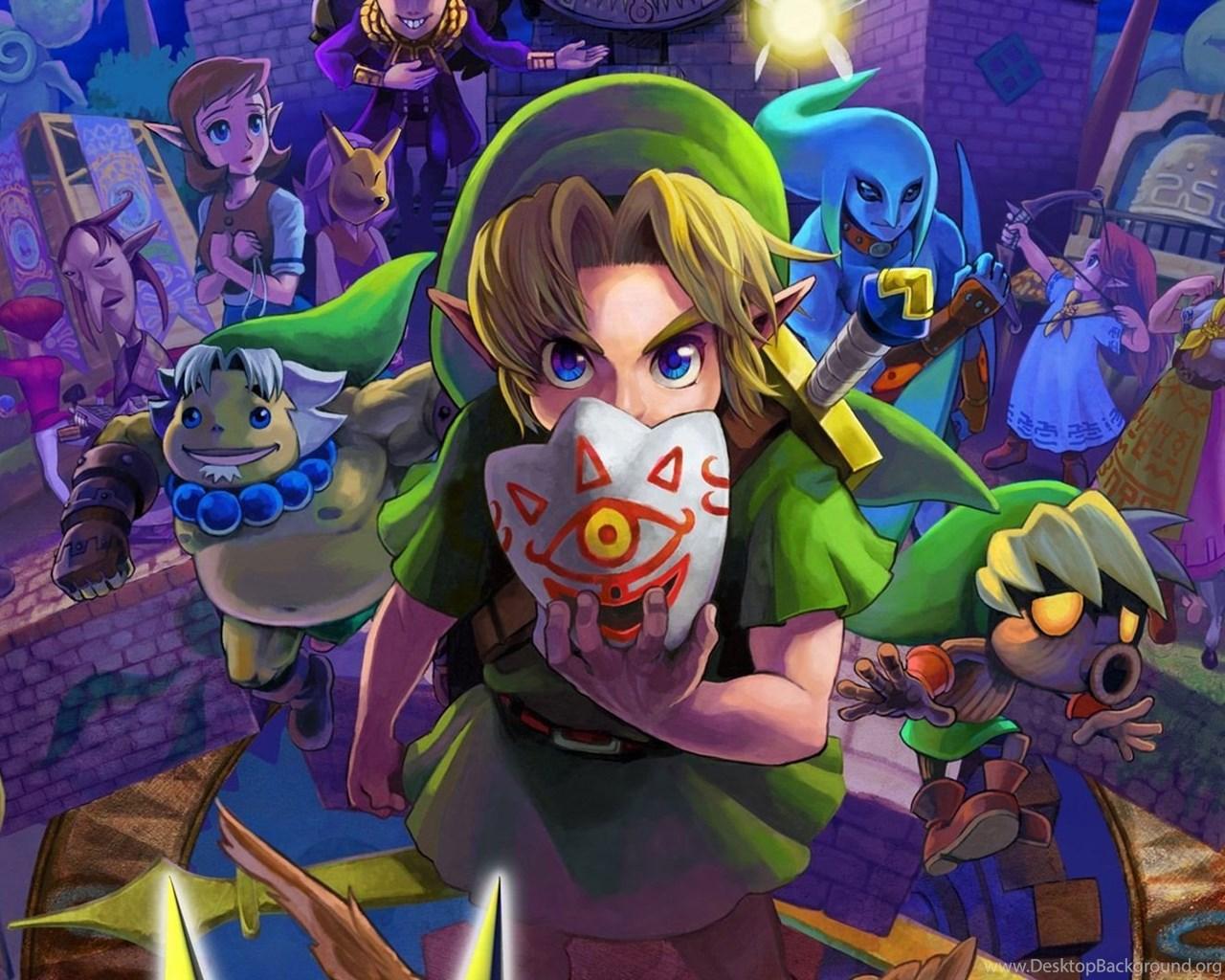 The Legend Of Zelda Majora S Mask Wallpapers 1080p Hd Desktop