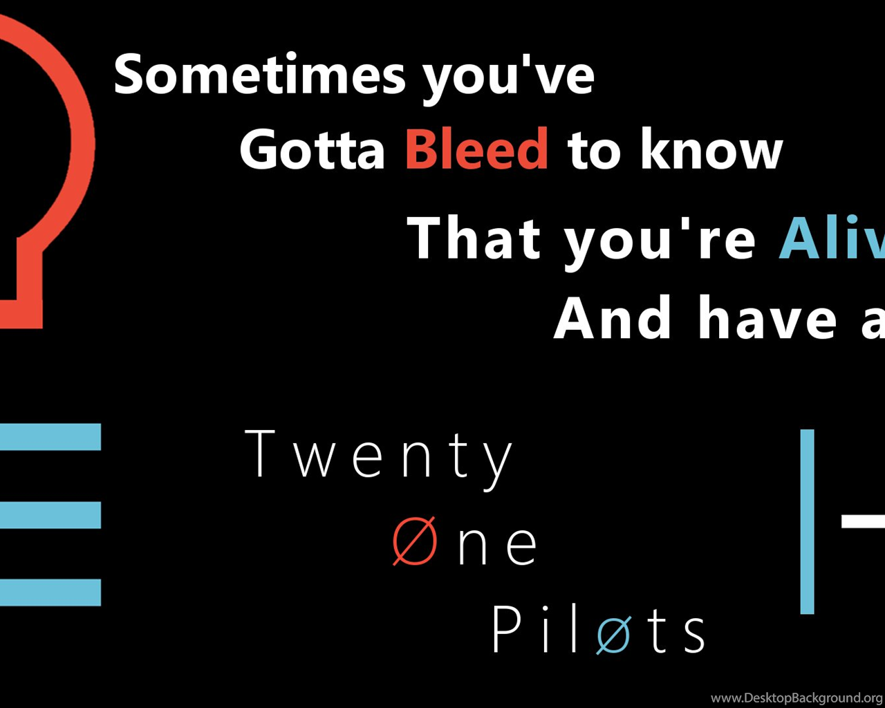Twenty One Pilots Fairly Local Desktop Wallpapers By Misfit301 On