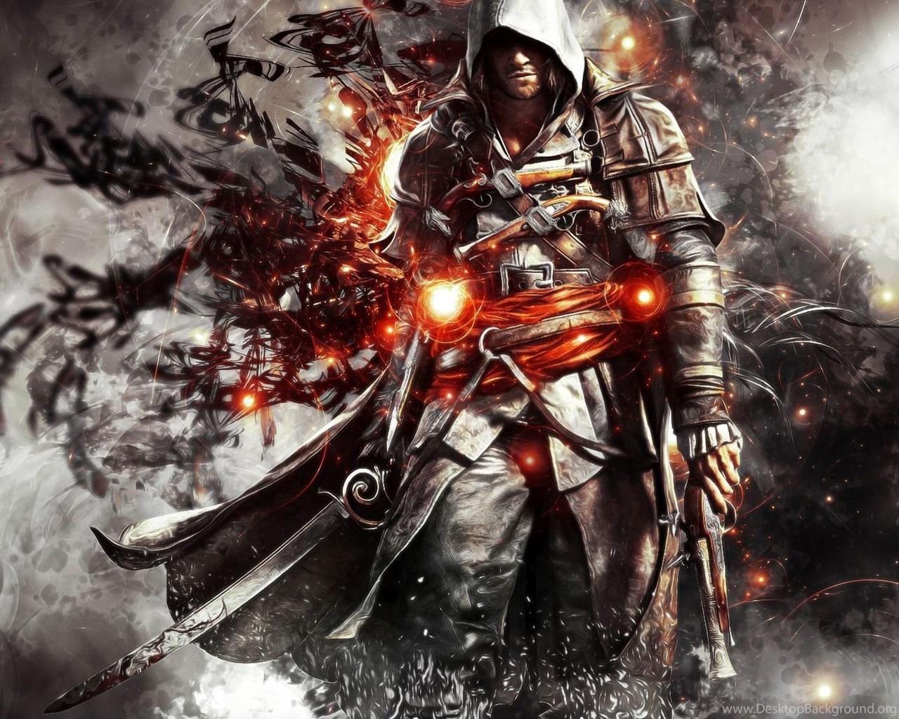 Assassins Creed Black Flag Characters Hd Wallpaper Hd Wallpaper