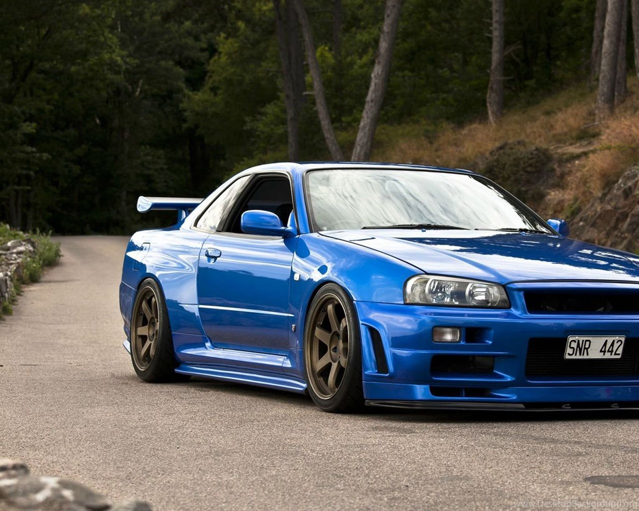 download wallpapers nissan skyline gtr gt r r34. Black Bedroom Furniture Sets. Home Design Ideas