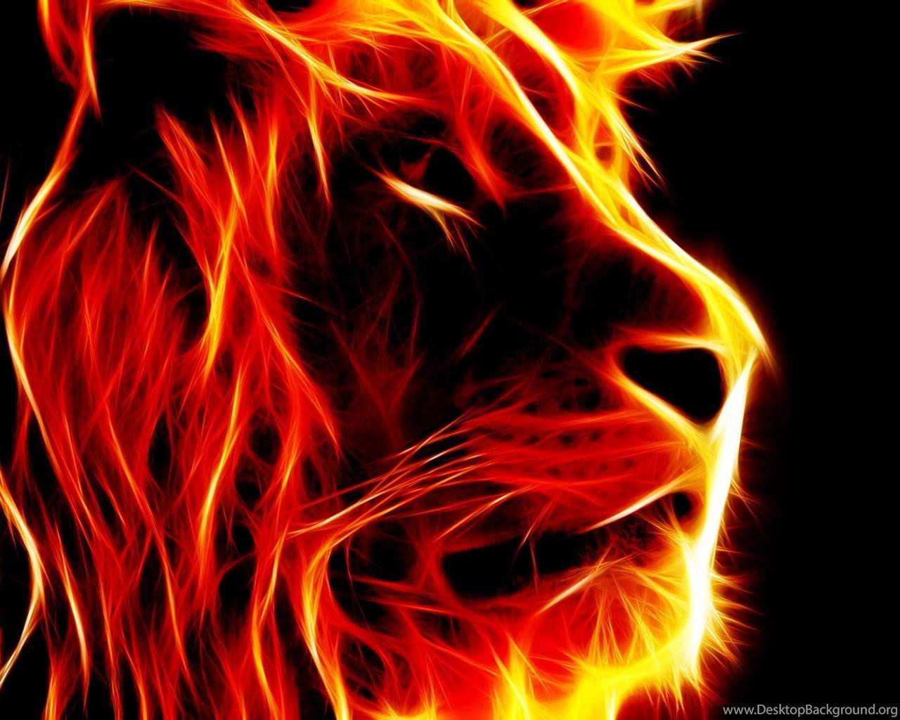 3d lion 1280 - photo #39