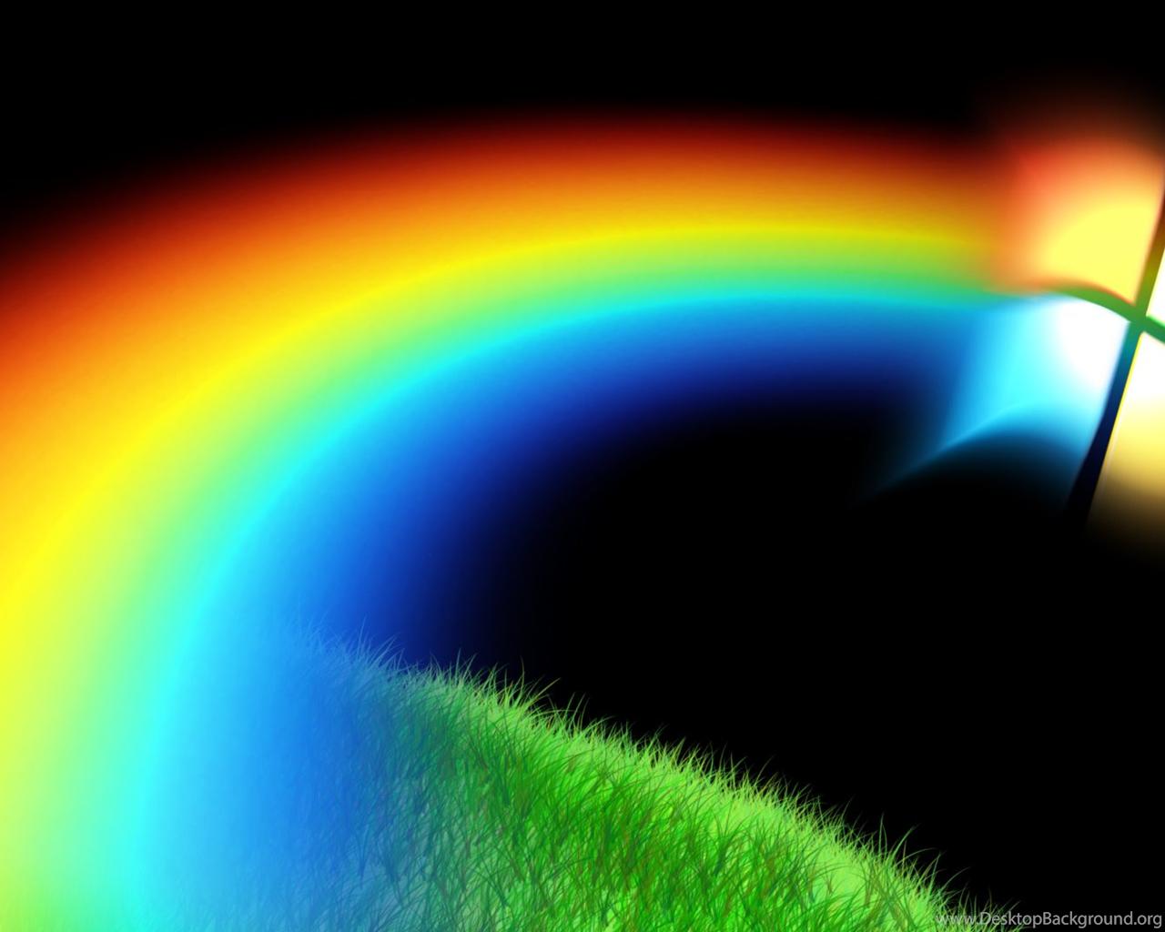 живая радуга живые картинки меня пытался убегать