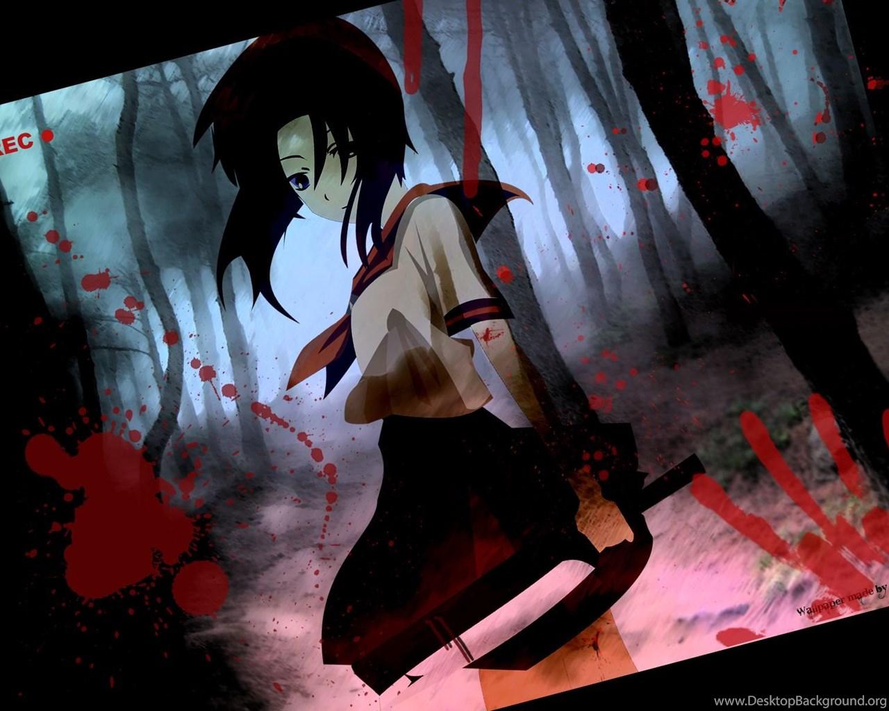 Download Anime Higurashi No Naku Koro Ni Wallpapers 1600x1200