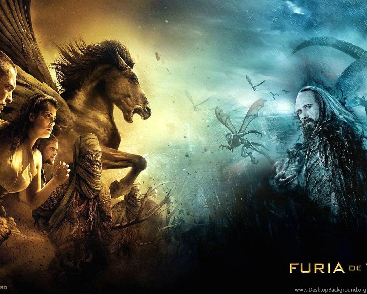 Clash Of The Titans Fantasy Action Adventure Wallpapers Desktop