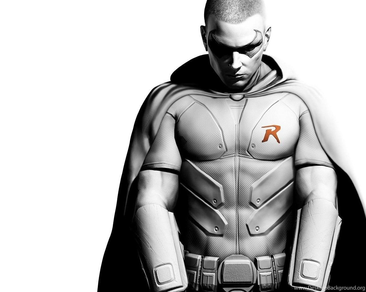 download wallpapers 2560x1024 batman arkham city, robin, character