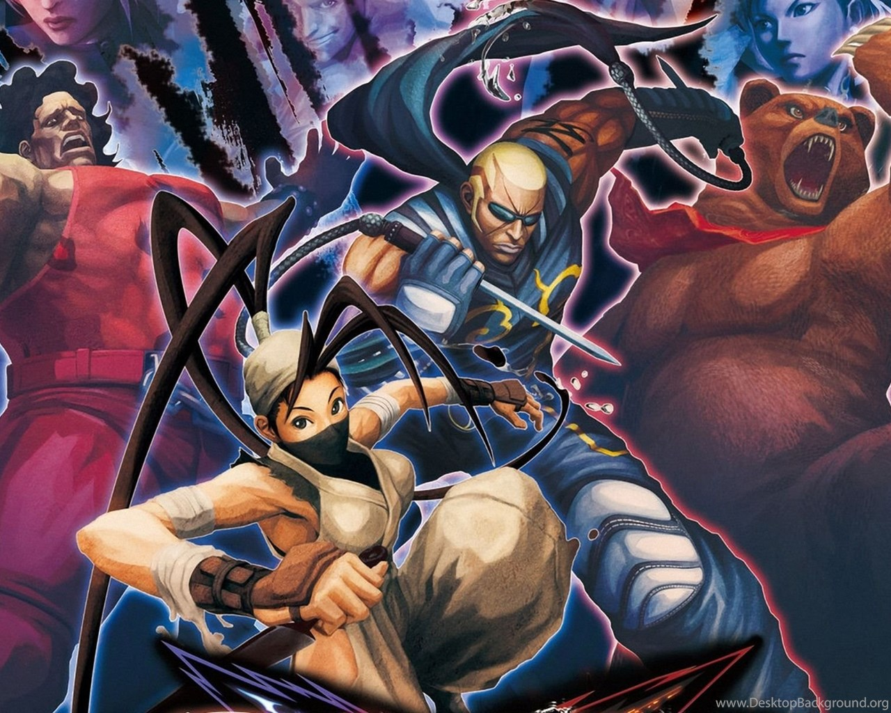 Street Fighter X Tekken Wallpapers Wallpapers Free Street Fighter Desktop Background