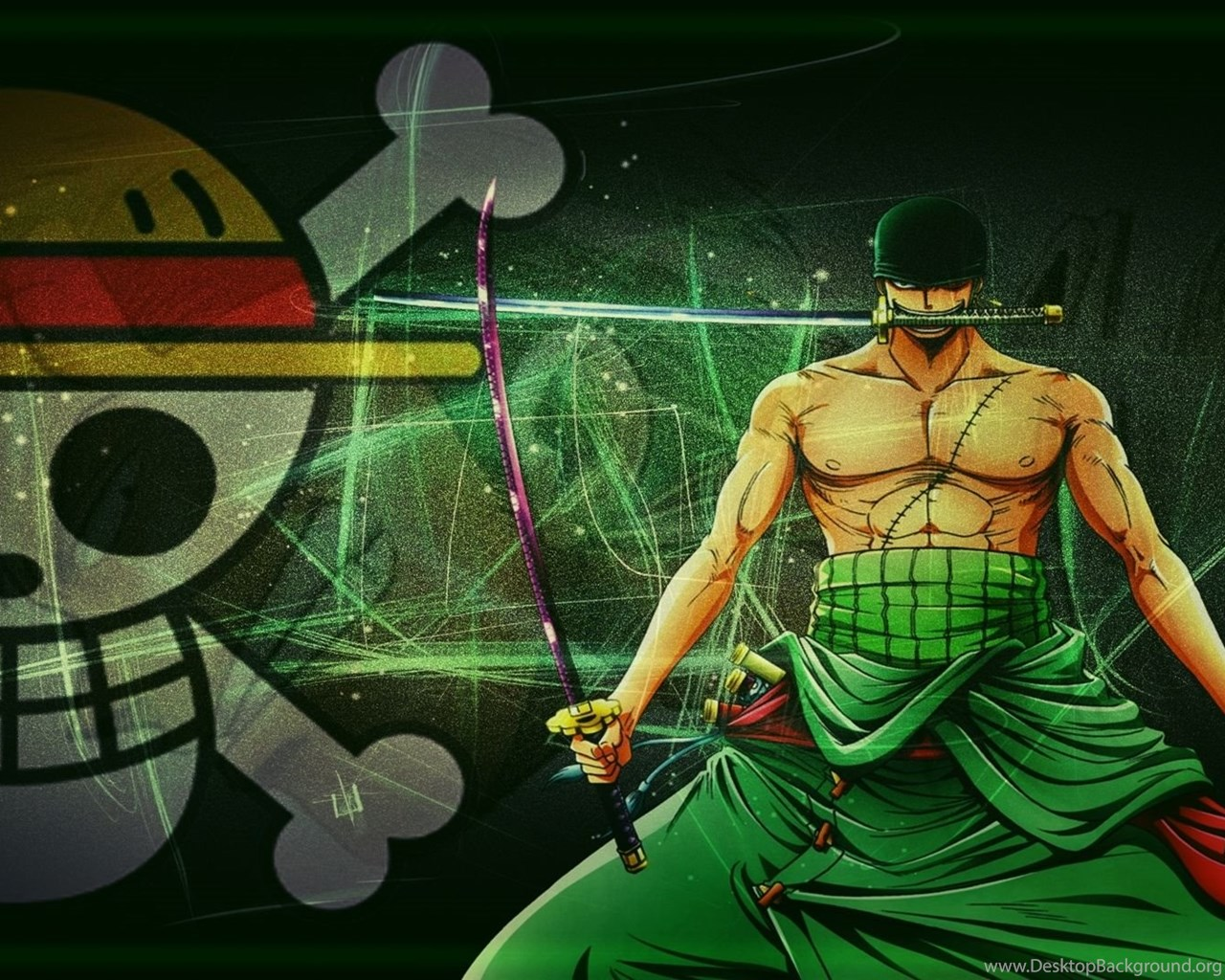 One Piece New World Zoro Computer Wallpapers 10615 HD