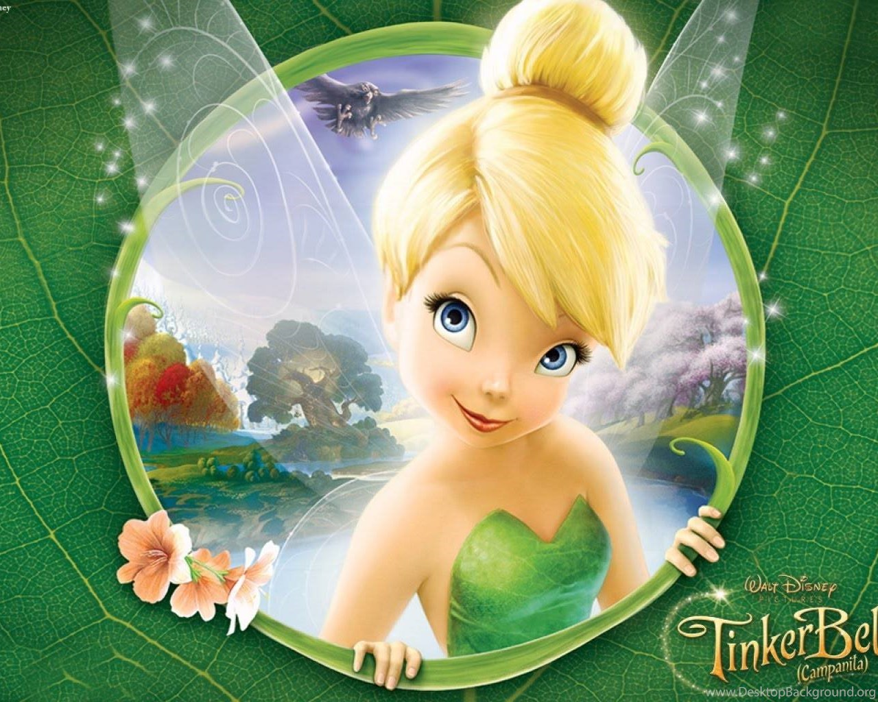 tinkerbell characters wallpaper desktop background