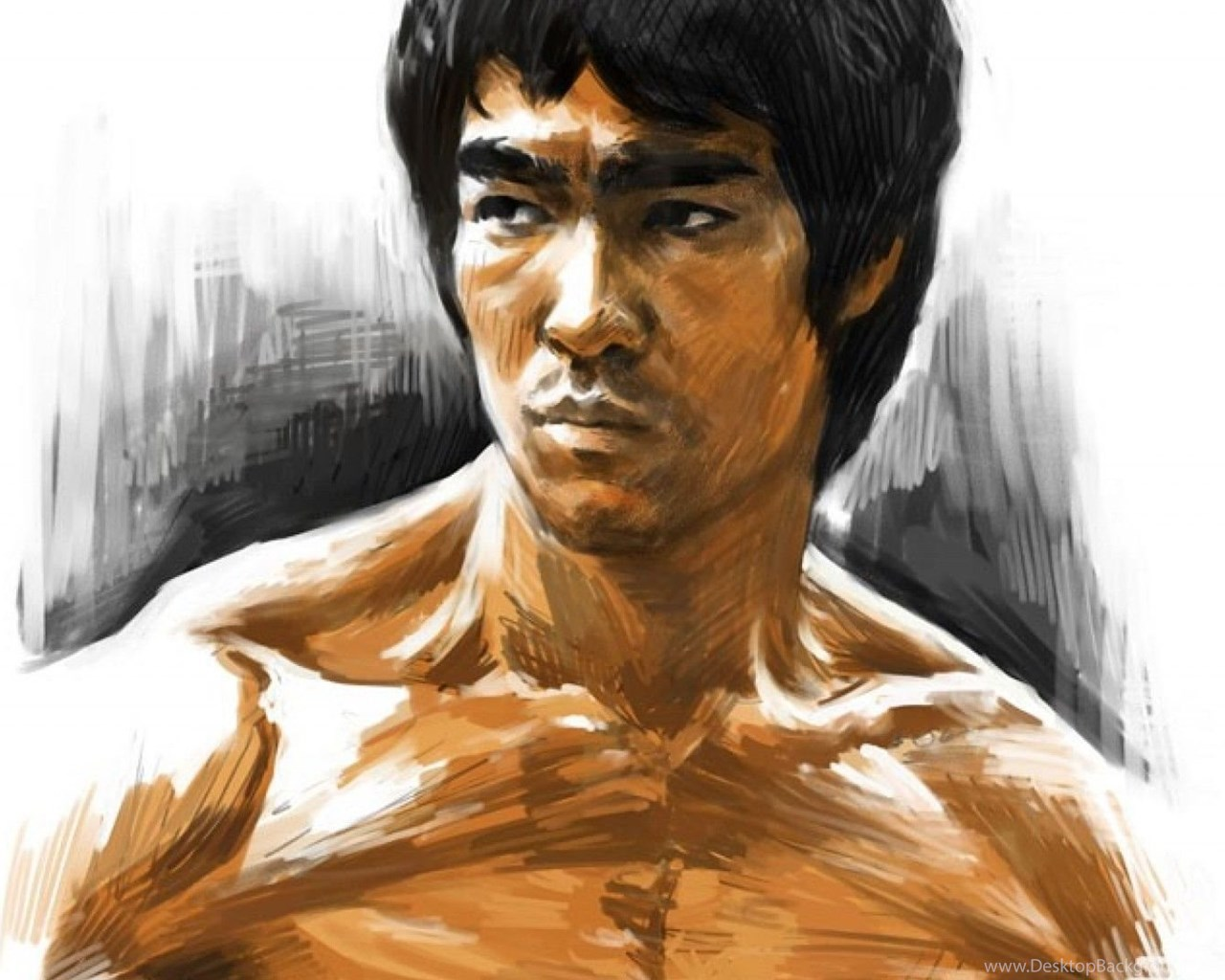 Enter The Dragon Bruce Lee Martial Arts Movie En Wallpapers