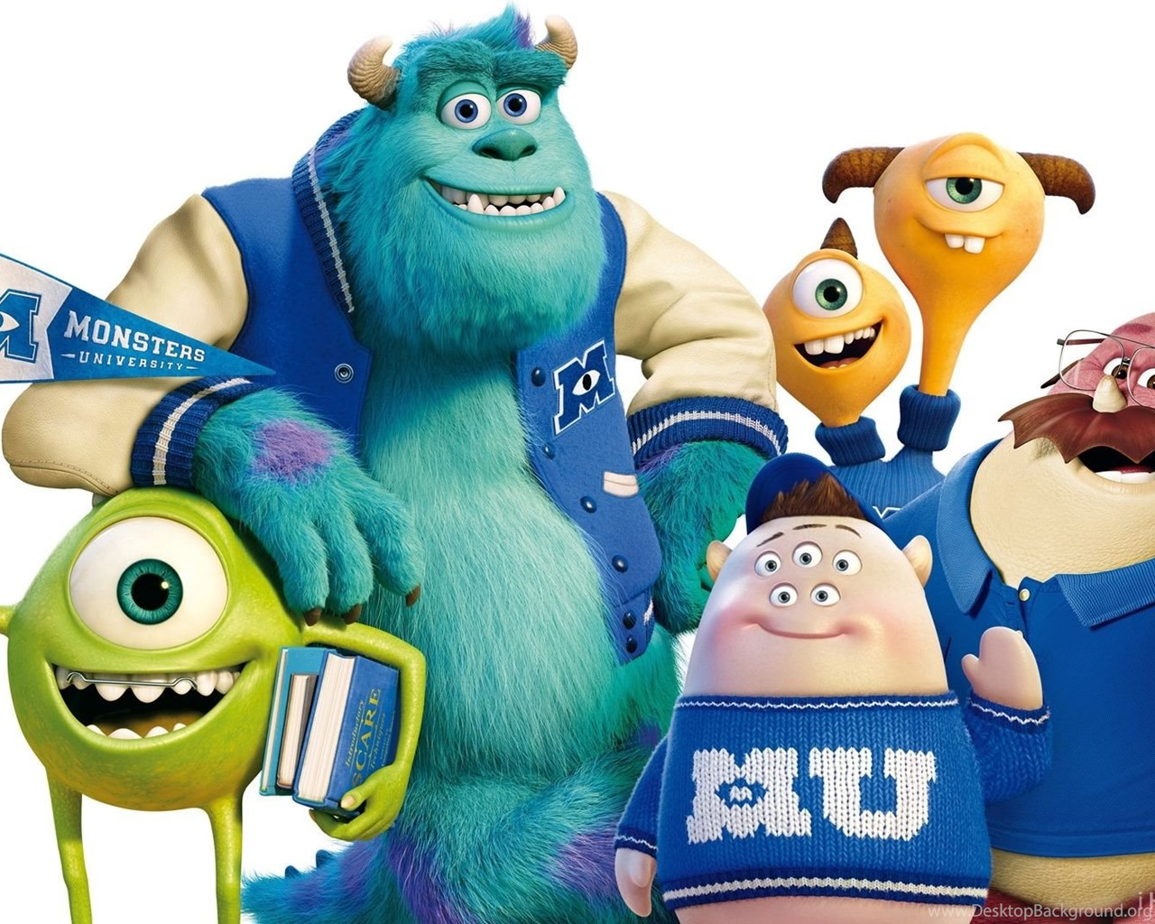 Monsters University Banner HD Wallpapers IHD Wallpapers ...