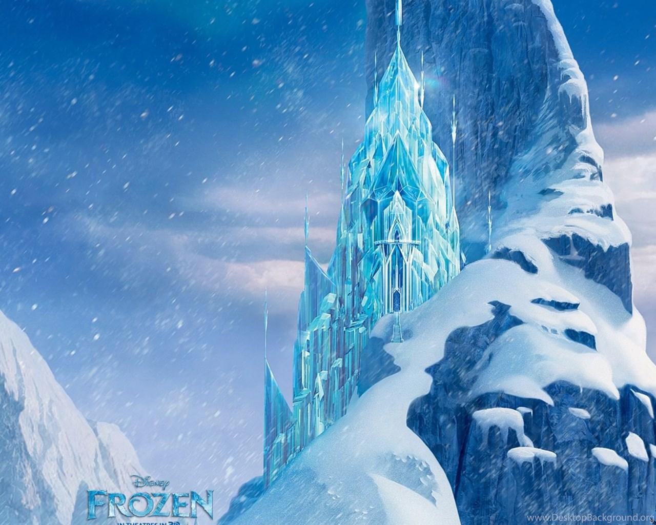 Icecastle Disney Frozen Movie HD Wallpapers Desktop Background