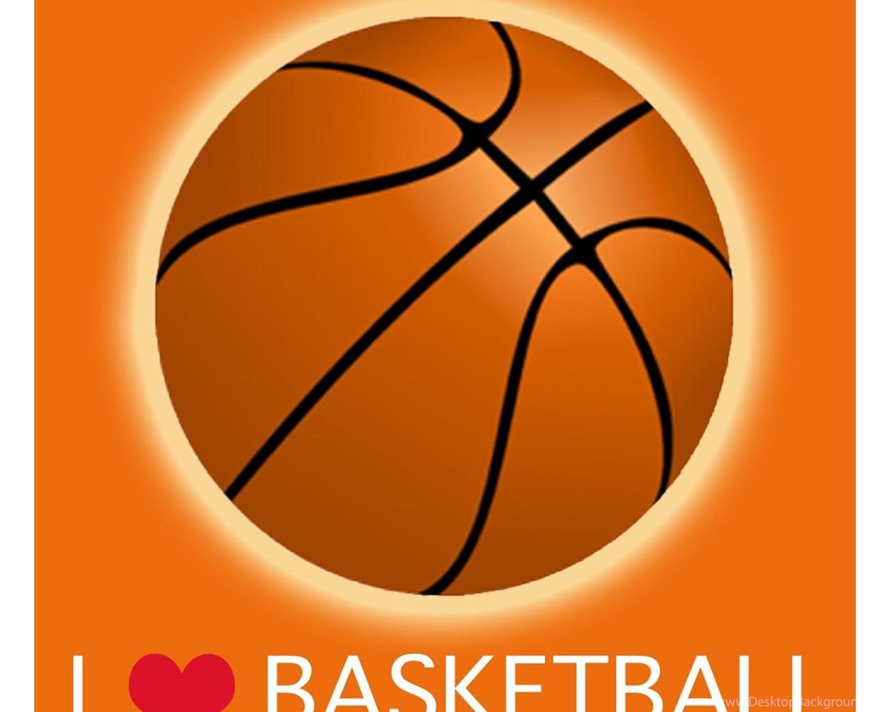Laila S Kde032 5e I Love Basketball Canvas Art Desktop Background