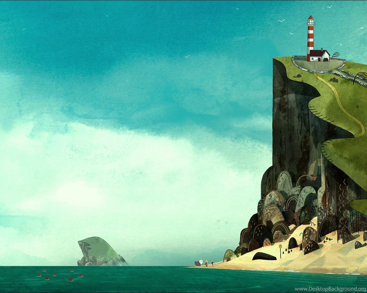 Song Of The Sea Wallpapers Album On Imgur Desktop Background