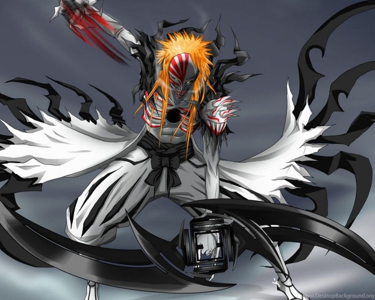 Hollow Tensa Zangetsu Wallpaper Bleach Full Hollow For...