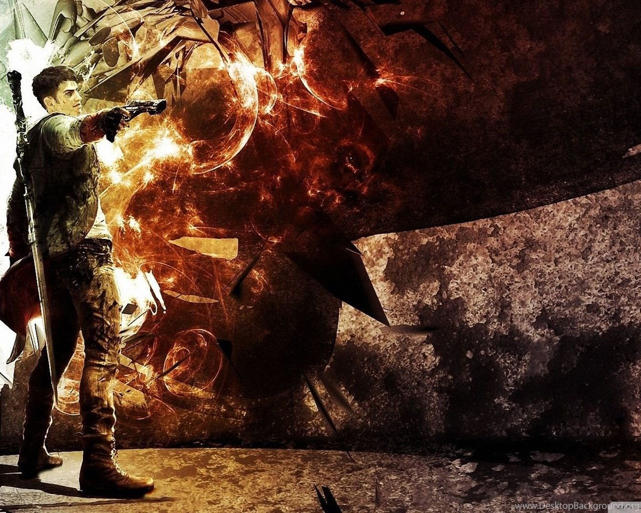 Dmc Devil May Cry 5 Hebus Org High Definition Wallpapers