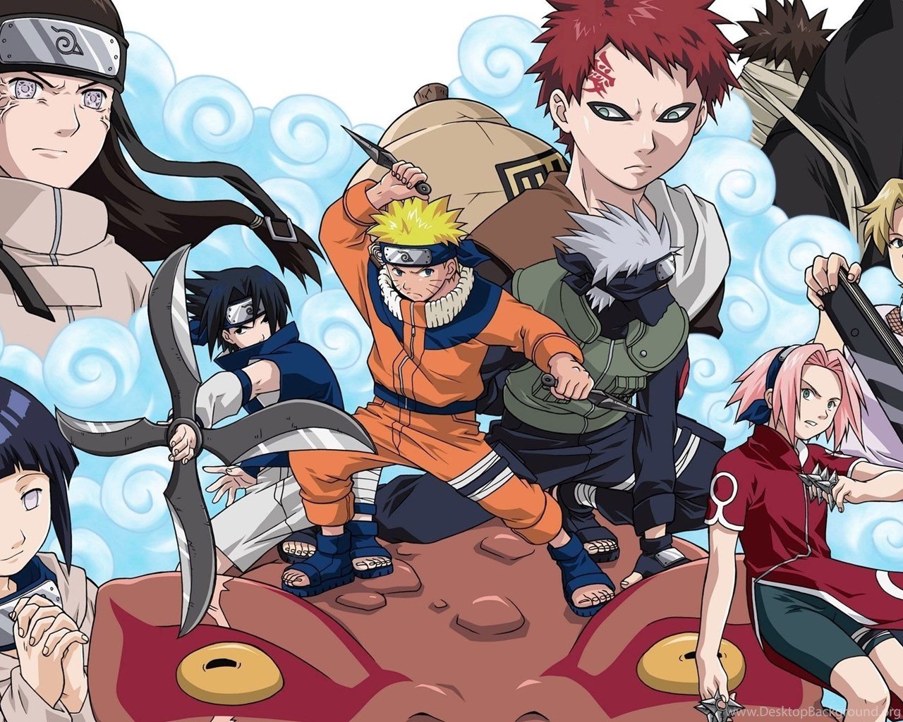 naruto characters with weapons wallpapers anime wallpapers desktop