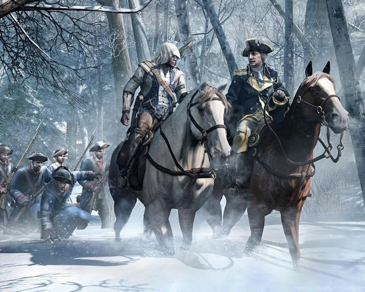 Assassin039s Creed 3 George Washington Wallpapers Walldevil