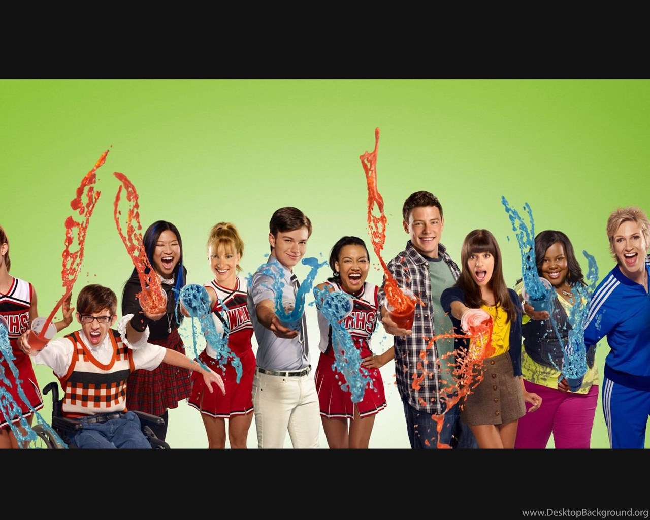 Glee Wallpapers 2 By Seb88 On Deviantart Desktop Background