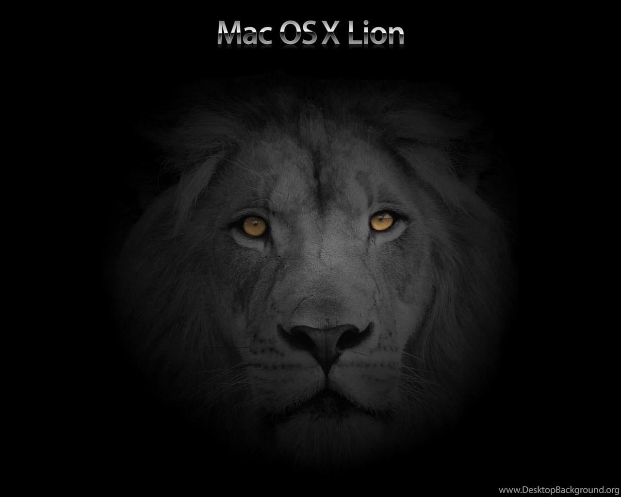 mac os x lion, black, steampunk, 1920x1200 hd wallpapers and free