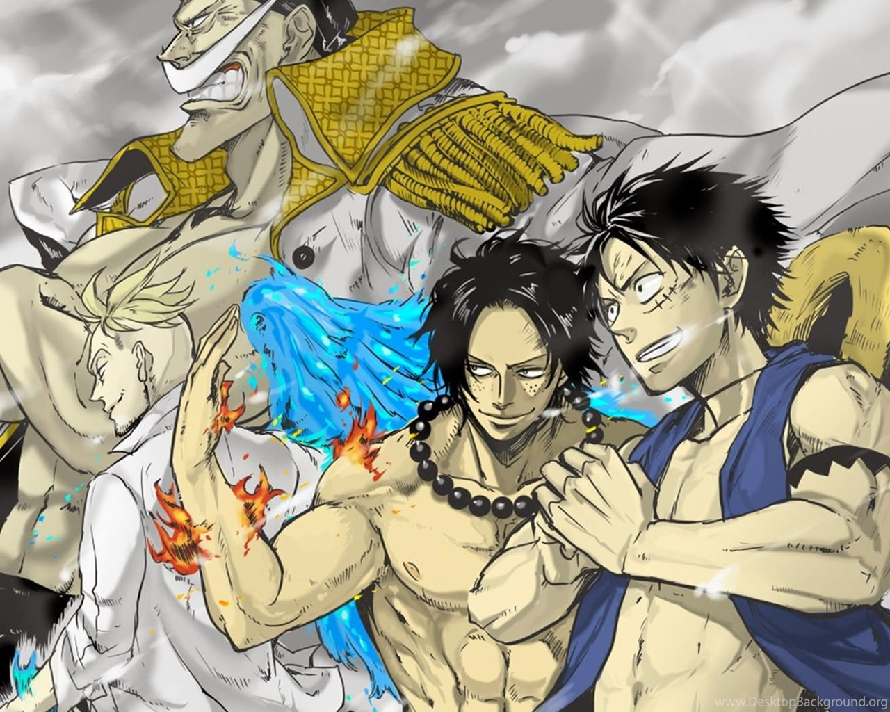21822 One Piece Whitebeard Cool Wallpapers WalOps Desktop
