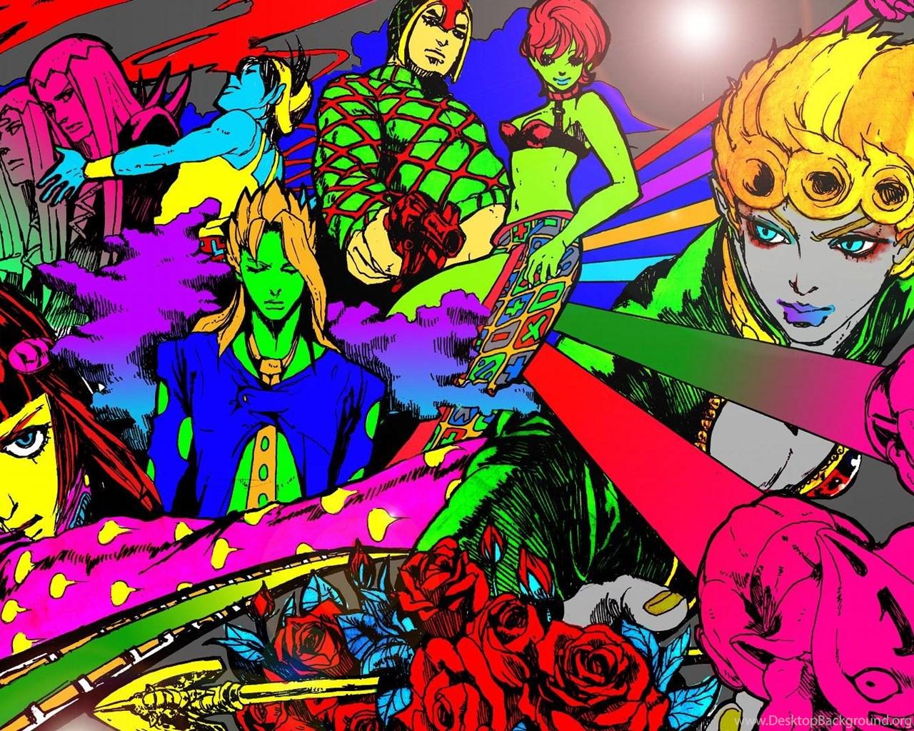 Jojos Bizarre Adventure Hd Wallpapers Desktop Background