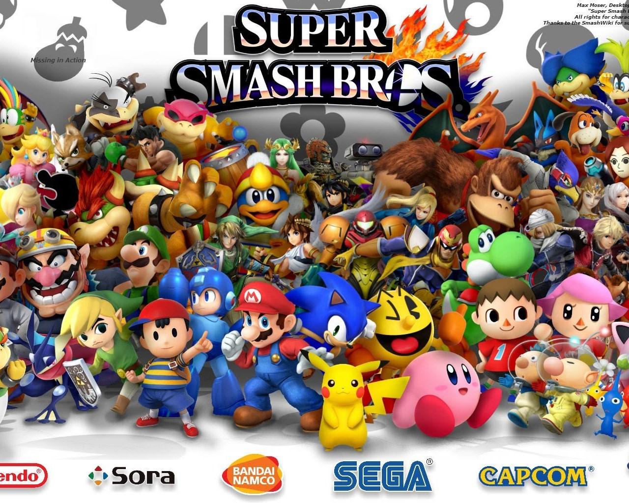 Super Smash Bros For Wii U 3ds Desktop Wallpaper Youtube