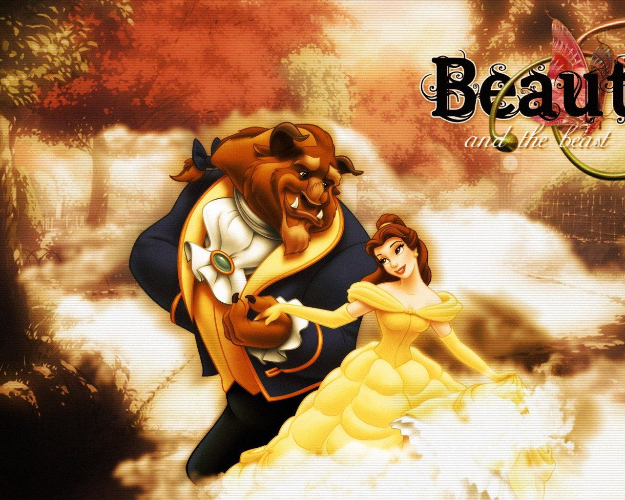 Beauty And The Beast Computer Wallpapers Desktop Backgrounds