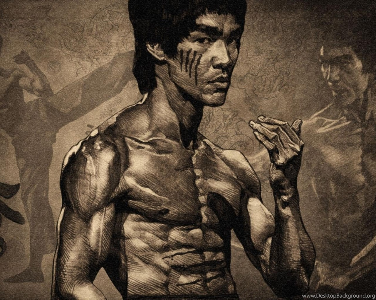 Download Bruce Lee Wallpapers For Iphone Desktop Background