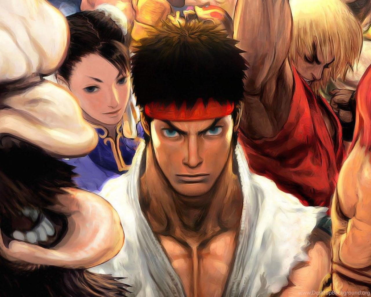 Street Fighter Ryu Ken Masters Hd Wallpapers Wallpapers Desktop