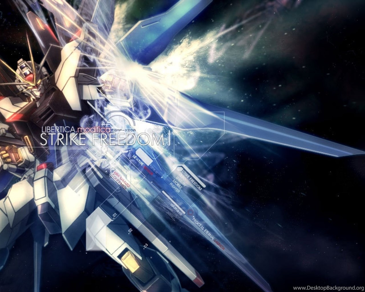 Download Wallpapers, Download 2560x1600 Freedom Gundam