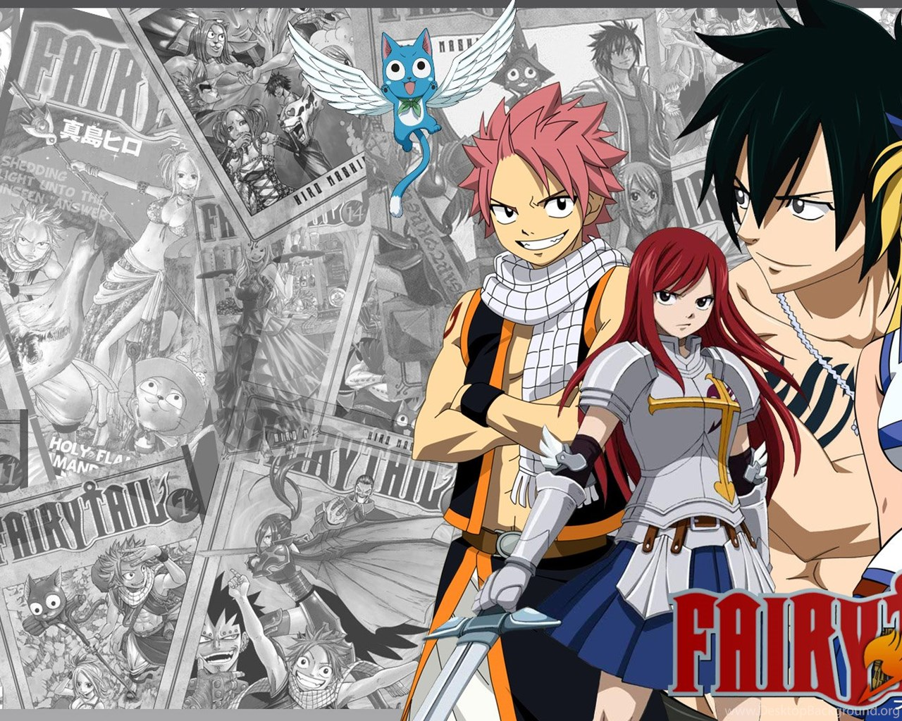 High Resolution Best Anime Fairy Tail Wallpapers HD 1 Full Size ... Desktop Background