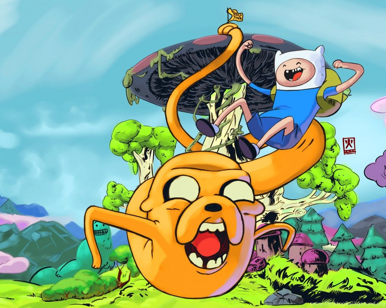 HD Adventure Time Finn And Jake Wallpapers For PC