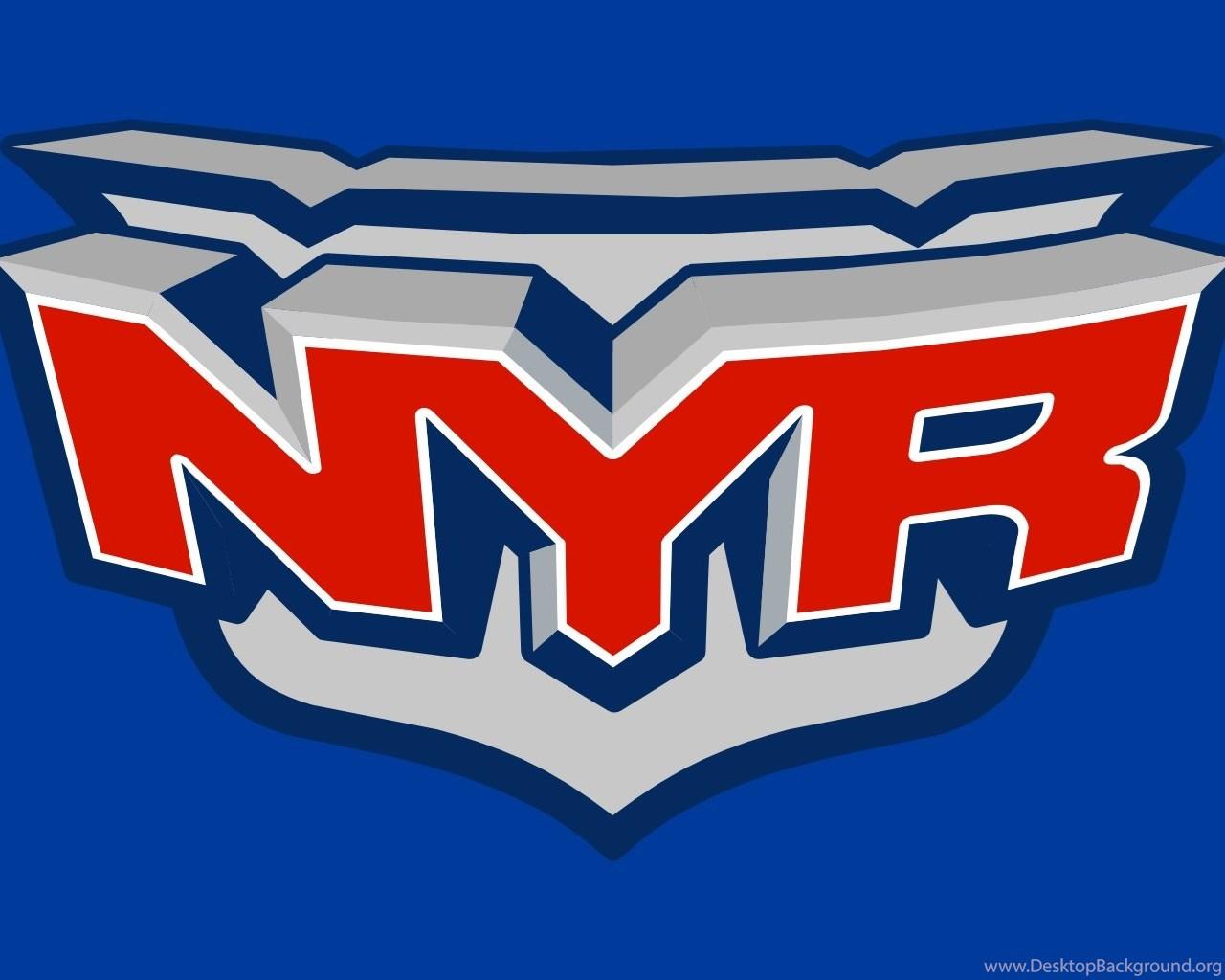 New York Rangers Logo Edit Wallpapers Desktop Background
