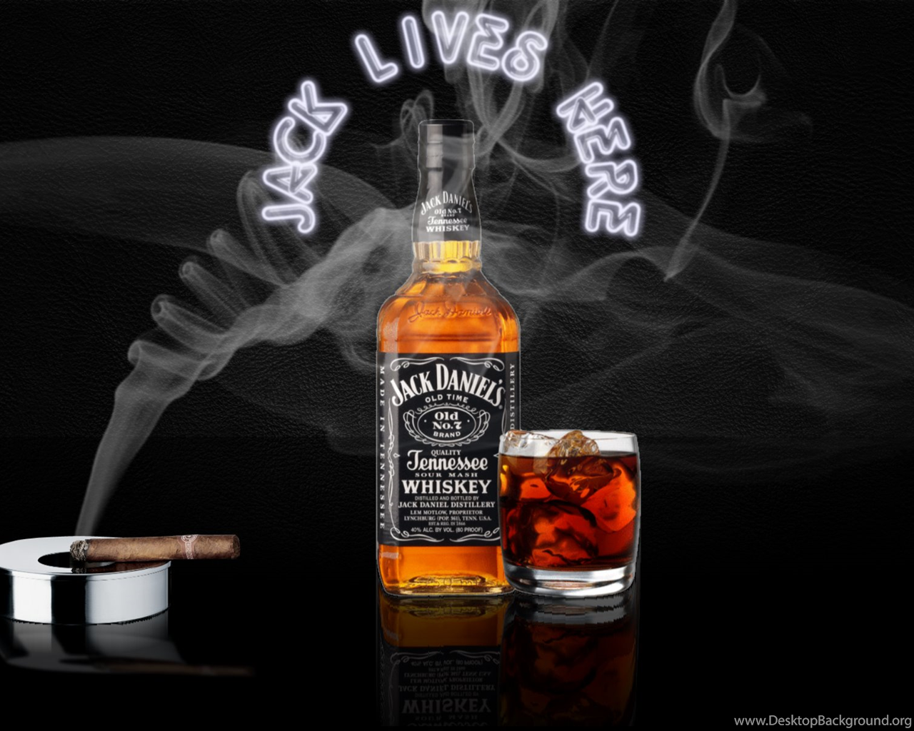High Resolution Cool Jack Daniels Smoke Wallpapers For PC Full Size