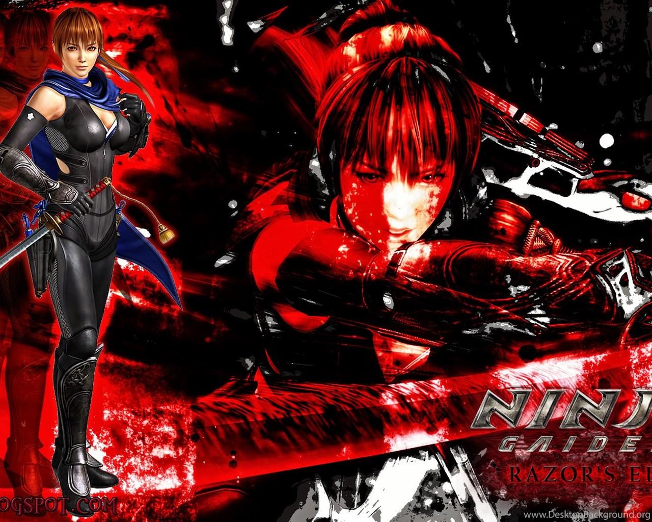 Games Movies Music Anime My Ninja Gaiden 3 Razor S Edge Kasumi Desktop Background
