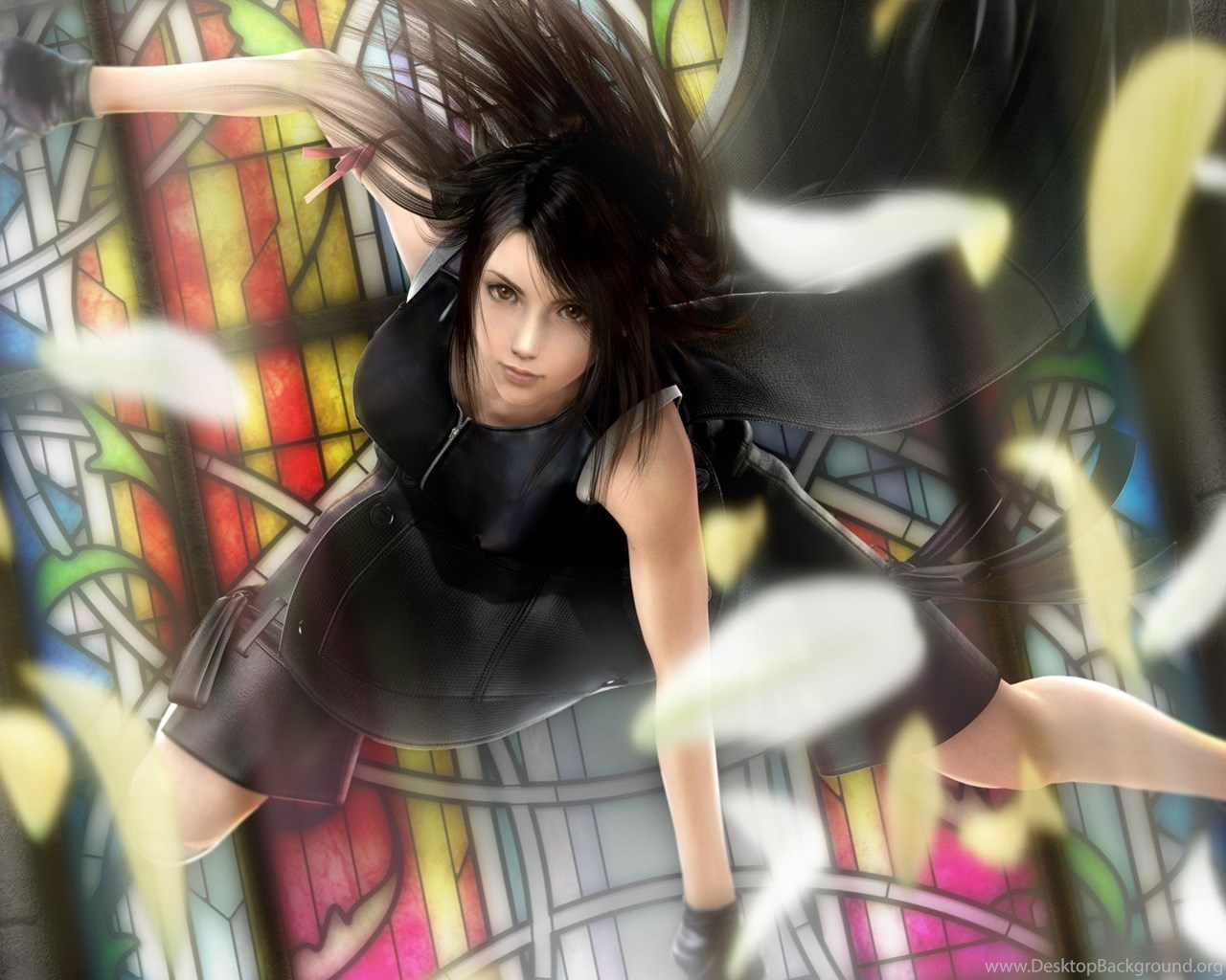 Tifa Lockhart Final Fantasy Vii Advent Children Wallpapers 5562