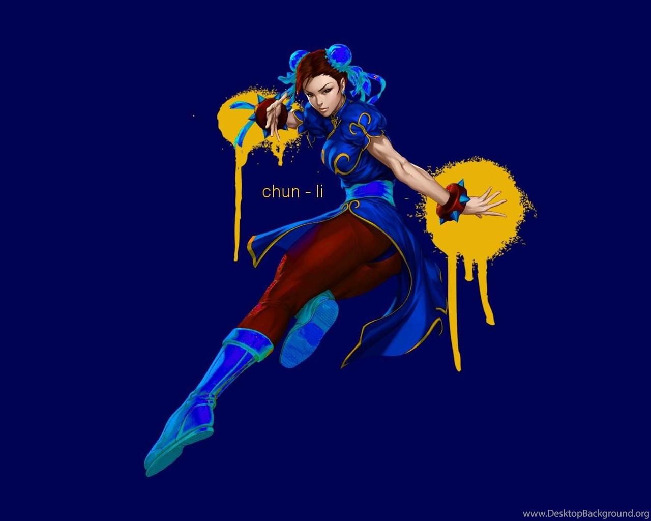 Video Games Street Fighter Chun Li Wallpapers Desktop Background