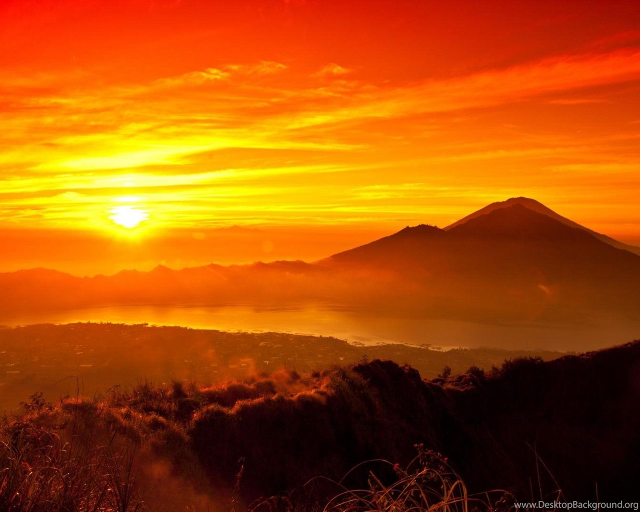 Beautiful Mountain Sunrise Wallpapers Desktop Background