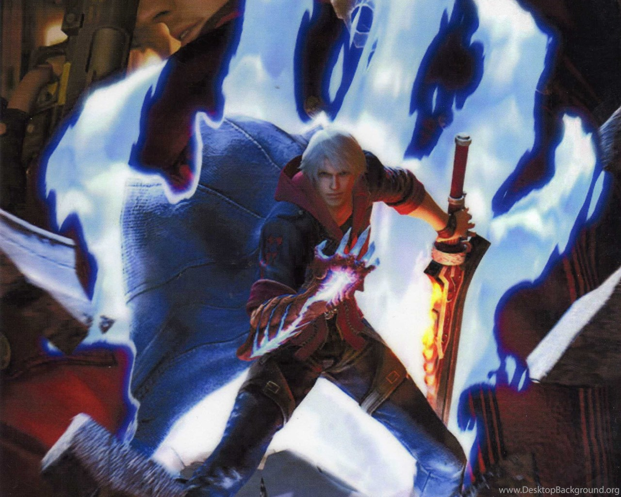 Dante And Nero Devil May Cry 4 Wallpapers Desktop Background