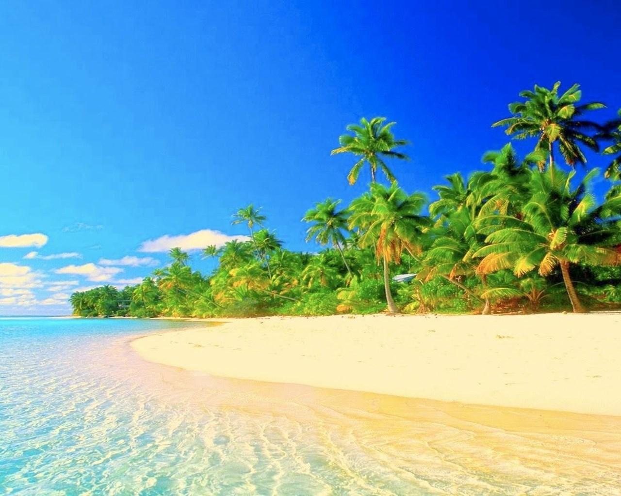 Tropical Paradise Beach Hd Wallpaper For Nexus 7 Screens: Tropical Paradise Collection (37+) Desktop Background
