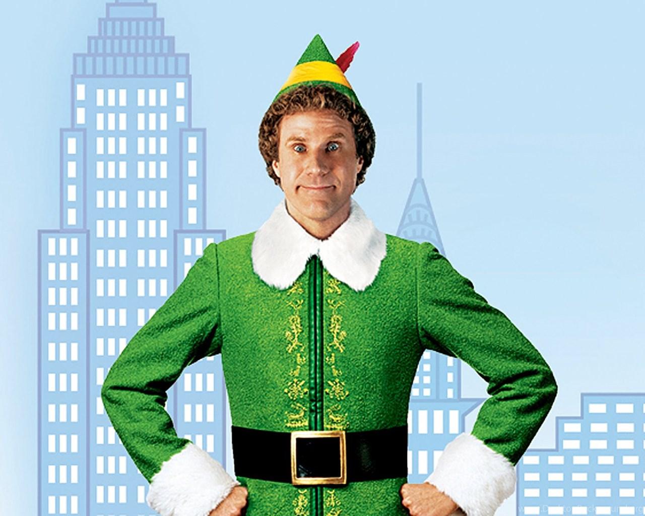 Elf The Movie Wallpaper: Elf Christmas Movie Desktop Background
