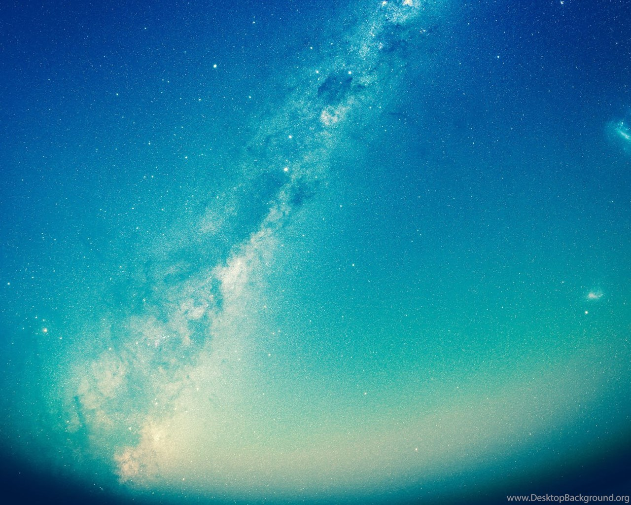 Free IOS Parallax Wallpapers Blue Galaxy Desktop Background