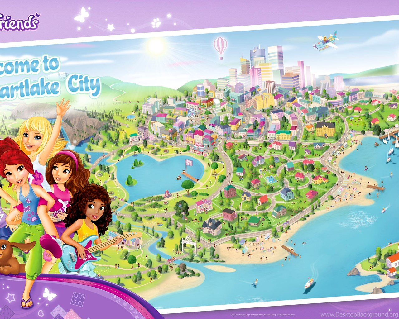 Heartlake City Wallpapers 2560x1600 The Bff Book Desktop